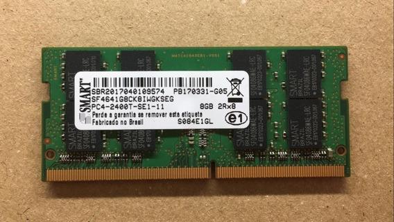 Memória P/ Notebook Smart 8gb Ddr4 - Pn: Sf4641g8ck8iwgkseg
