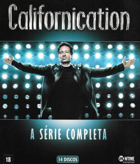 Box Californication A Série Completa 14 Dvds Original