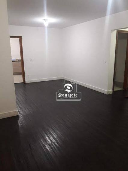 Apartamento Com 3 Dormitórios Para Alugar, 122 M² Por R$ 2.700,01/mês - Vila Assunção - Santo André/sp - Ap10887