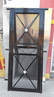 Puerta Reja Material Artistico