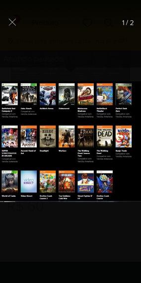 Pacote Jogos Xbox 360 Transferência De Licença