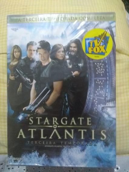 Box Stargate Terceira Temporada 5 Dvds Lacrado