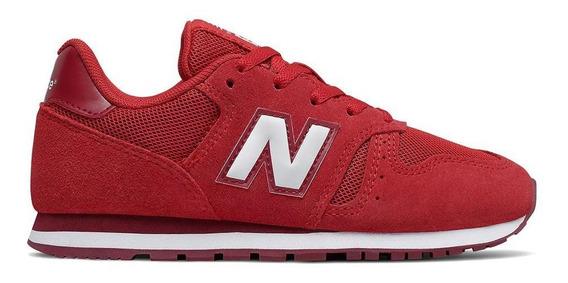 Tênis New Balance Yc373sb 373 Vermelho Infantil