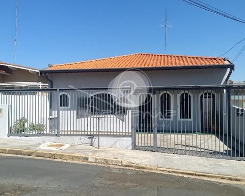 Imagem 1 de 30 de Casa Para Venda No Jardim Planalto Em Campinas - Imobiliária Em Campinas - Ca01065 - 69660317