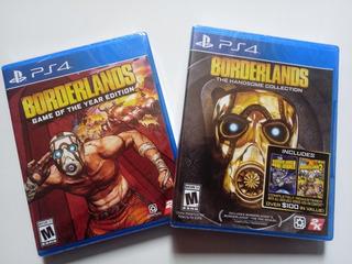 Borderlands Ps4 Pack Nuevo Y Sellado