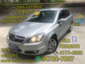 Gm Chevrolet Vectra Hatch Gtx Automatico Couro 3mil Ent+799