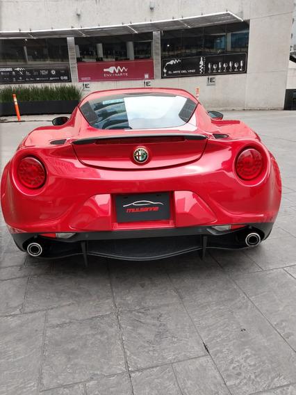 Alfa Romeo 4c 2016 Rojo