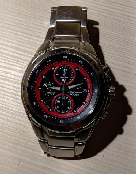 Relógio Seiko 35h0-g-c Vermelho