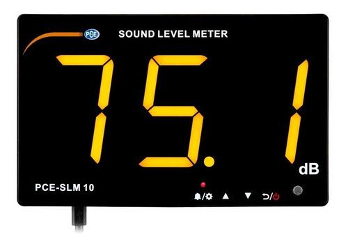 Imagen 1 de 3 de Medidor De Sonido Pce-slm 10