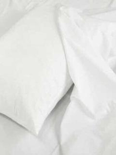 Sabanas Hospital Hotel Blancas Juego 100% Algodón Percal 180