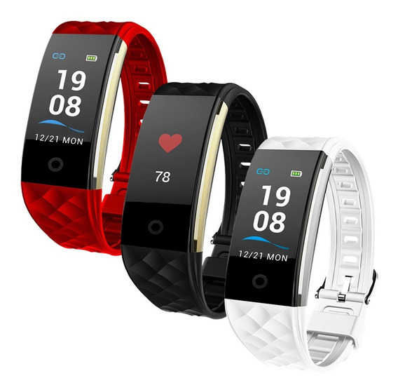 Pulsera Inteligente S2 Fitness Ritmo Cardiaco Bluetooth 4.0