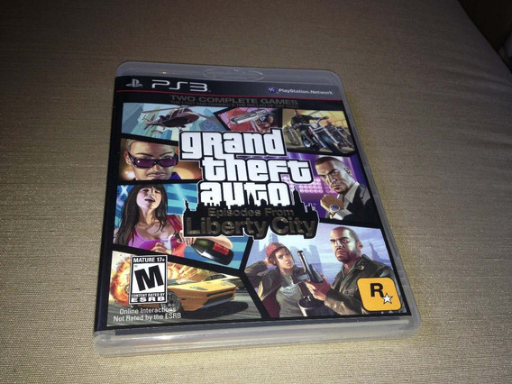 Grand Theft Auto Episodes From Liberty City Two Comp.games