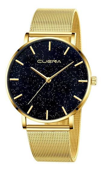 Relógio Feminino Novo Original Brilhante Bom Bonito Luxo Elegante