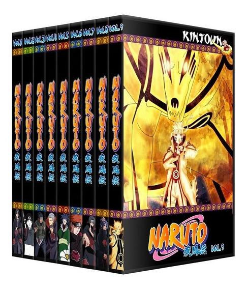 Dvds Naruto Shippuden Coleção Completa + Filmes E Ovas