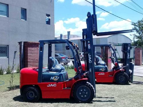 Autoelevador Jac Forklift 2,5 Toneladas Motor Mitsubishi S4s