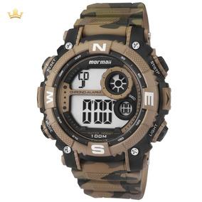 Relógio Mormaii Masculino Mo12579a/8v Com Nf