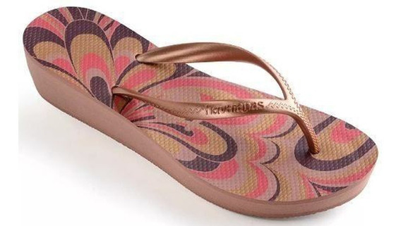 Chinelo Havaianas High Light Ii Feminino Rose