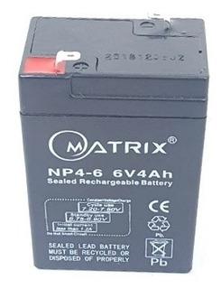 Batería De 6v 4.5ah Ups, Lámpara, Alarma Y Cercos Eléctricos
