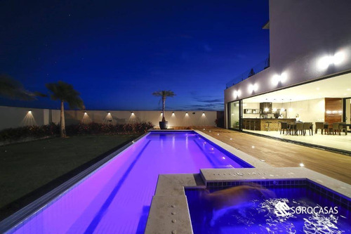 Casa À Venda, 700 M² Por R$ 5.200.000,00 - Condomínio Saint Patrick - Sorocaba/sp - Ca1784