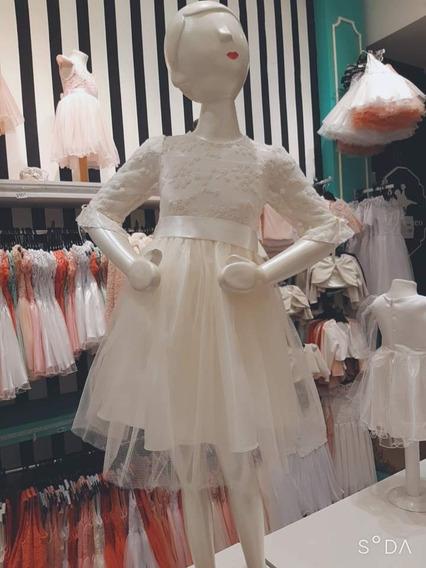 Vestido Para Nenas Talle 1 A Talle 16