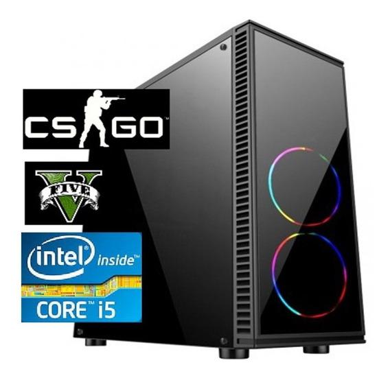 Cpu Gamer Core I5 9400f 8gb Ssd240 Gtx1060 6gb Fonte 500w80p