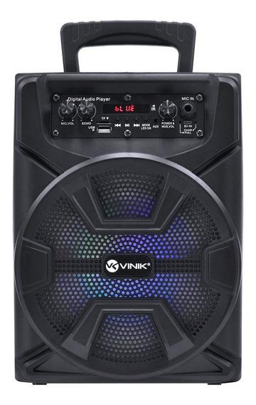 Caixa De Som Bluetooth Portátil Vinik 40w Usb/sd/aux/mic