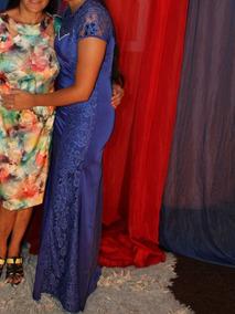 Vestido De Festa Ou Formatura Azul Royal