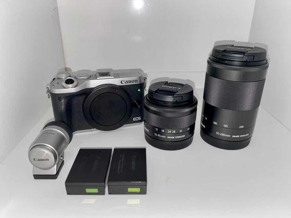 Câmera Canon M6 Mirrorless