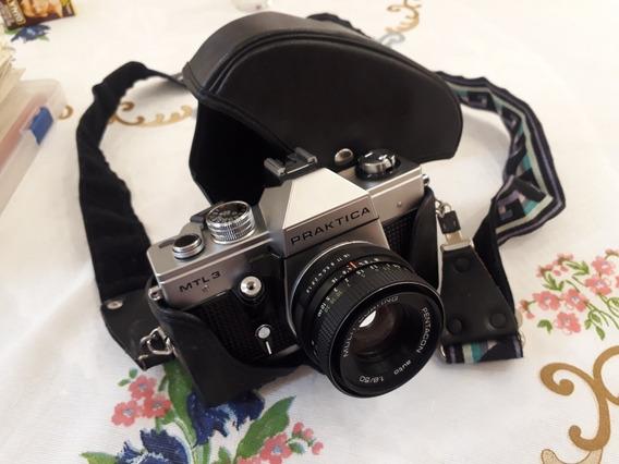 Câmera Fotográfica Alemã Praktica Mtl 3