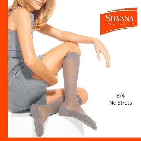 Silvana Medias 3/4 Lycra Descanso No Stress 100n