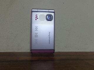 Celular Sony Ericsson W380i Flip C/carregador,fone Originais