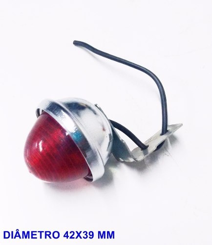 Lanterna Vermelha Olho De Boi