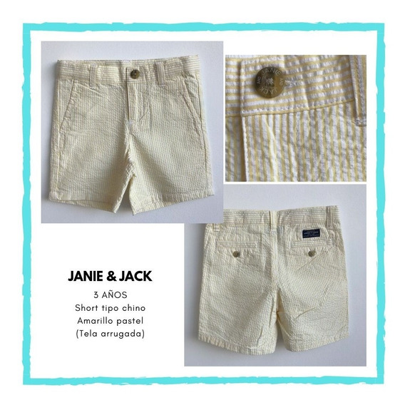Short A Rayas, 3 Años, Janie&jack