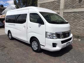 Nissan Urvan Nv350 15 Pasajeros Factura Original Mod 2015