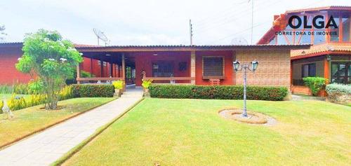 Casa Mobiliada Em Condomínio Com 4 Dormitórios À Venda, 150 M² - Gravatá/pe - Ca0645