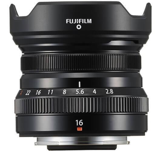 Lente Fujifilm Xf 16mm F/2.8 R Wr (preta)