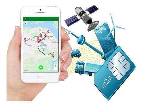 Chip M2m Vivo Para Rastreador Veicular + Aplicativo Online