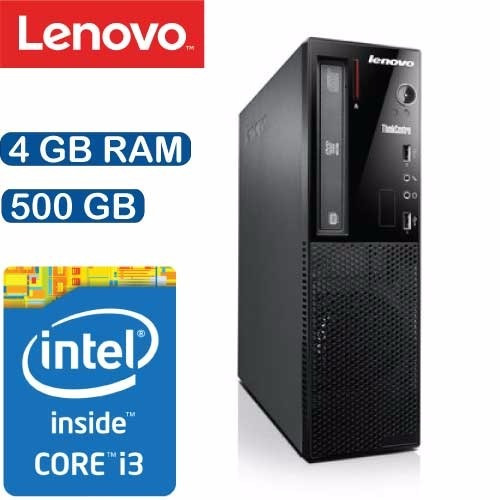 Computador Lenovo E73 Sff Intel I3 4gb 500gb - 10aus00r00