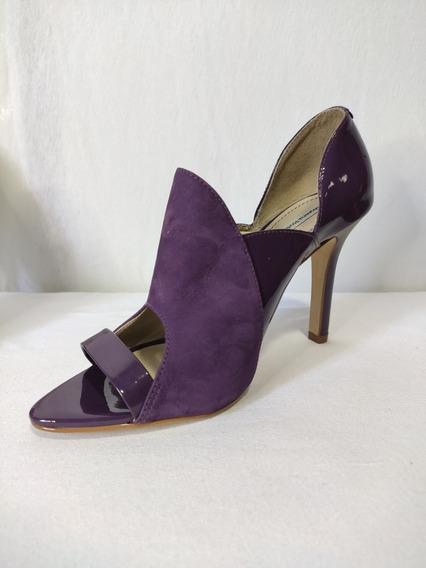 Sapato De Salto Médio, Morena Rosa, Roxo
