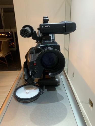 Câmera Sony Hi8 Pro Ccd V 5000 Diversos Acessórios