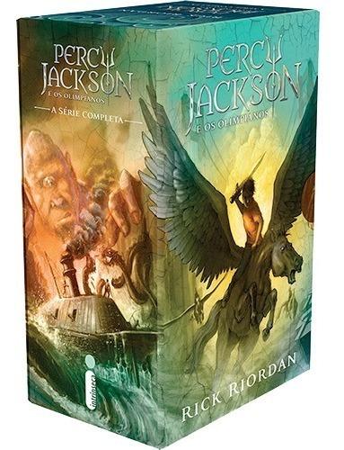 Percy Jackson E Os Olimpianos 5 Volumes Novo Rick Riordan