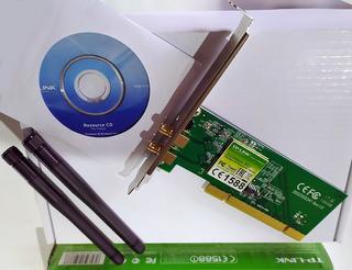 Tarjeta Wireless Tp-link Tl-wn781n 2.4ghz 802.11b/g/n Nueva