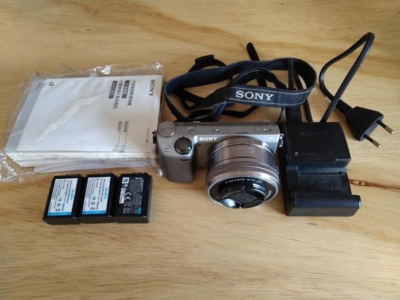 Câmera Sony Nex 5r