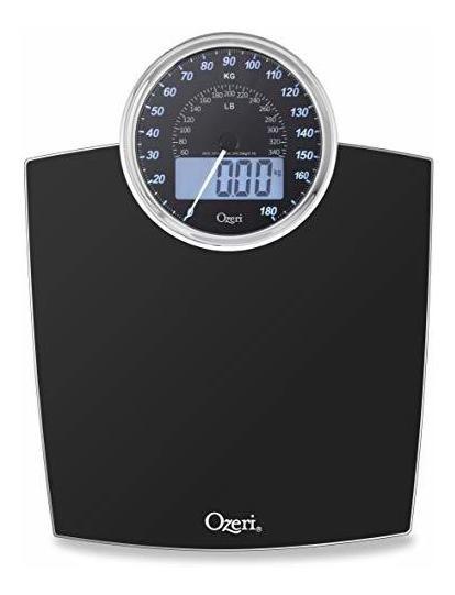 Báscula De Baño Ozeri Zb19-w Rev Digital Con Dial De Peso E