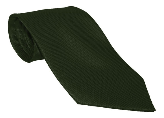 Corbata Italiana Verde Oscuro Texturizada