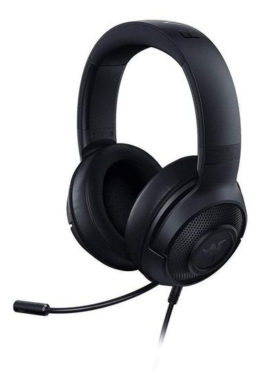 Fone de ouvido gamer Razer Kraken X Lite black