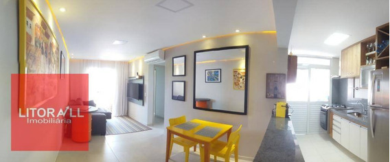 Apartamento Com 2 Dormitórios À Venda, 59 M² Por R$ 299.000 - Vila São Paulo - Itanhaém/sp - Ap0200