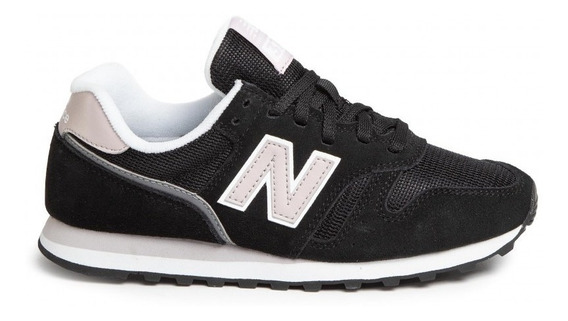 New Balance Zapatillas Lifestyle Mujer Wl373 Negro-rosa Fkr