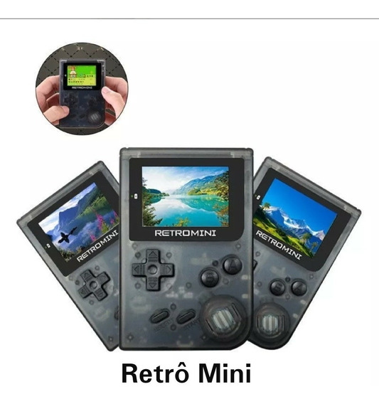 Game Boy Advance Retro Mini Todos Os Games, Micro Sd Jogos