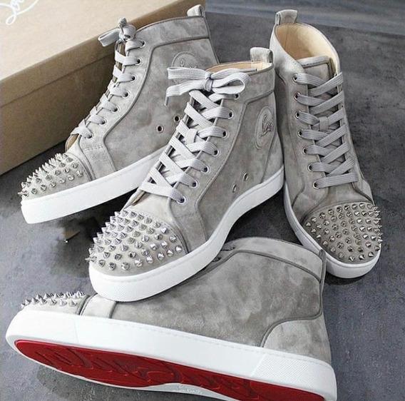muchas opciones de imágenes oficiales valor fabuloso Zapatillas Louboutin Hombre - Vestuario y Calzado en Mercado ...